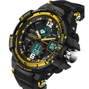 New Brand SANDA 289 Watch Men G Style Waterproof Sports Military Watches Hombre Men's Luxury Analog Digital Shock Watch