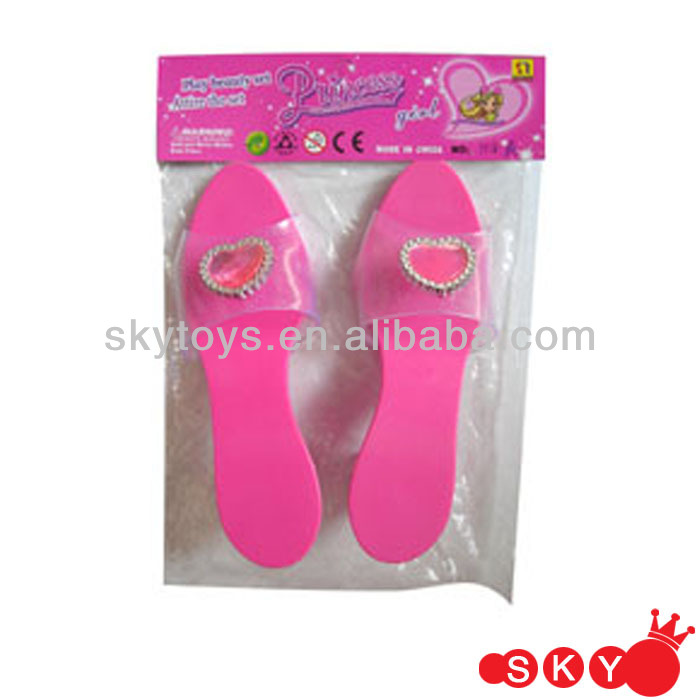 Girl dress up princess costumes toys high heel shoes