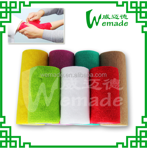Non-woven Fabric Cohesive Elastic Surgical/medical Waterproof Bandage