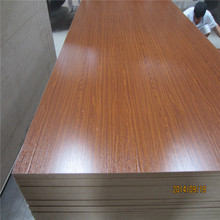 4x8 2mm to 30mm standard size melamine coated mdf board