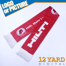 popular America advertising football sports kit rugby shawl and sporter head/neck polyester cashmere athletic sport scarf