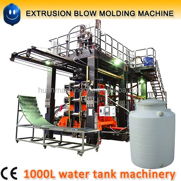 Blow moulding machine used for water tank 1000 liter