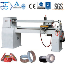 semi automatic Cloth Tape log roll cutting machine (Log Roll cutter/Roll Slitter)