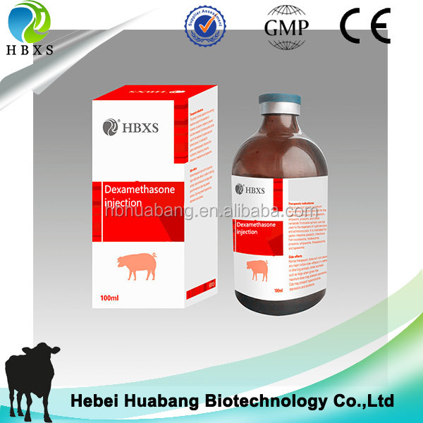 Horse antibiotics 50ml 100ml 0.2% Dexamethasone injection