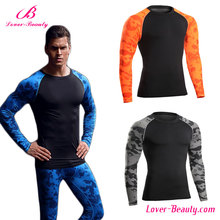 quick drying sublimation long sleeve men <strong>sport</strong> top
