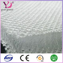 8mm soft breathable warp 3d knitting polyester spacer fabric for pillow