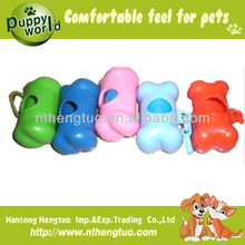 disposable and biodegradable dog dejecta cleaner and dispenser