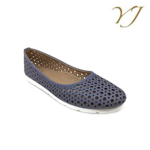 Wholesale cheap price hollow out ladies fashion office comfort shoes