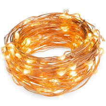 New Creative Design Fairy Copper Wire Timer Battery Operated Led String Light