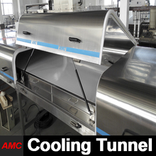 Machinery Price Stainless Steel fast food kiosk With Cooling Tunnel