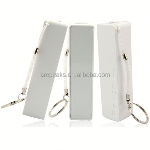 Portable mobile phone chargers 2600mA power bank for brand phone