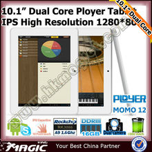 Hot rockchip rk3306 dual core tablet cortex-a9 1.6ghz pc