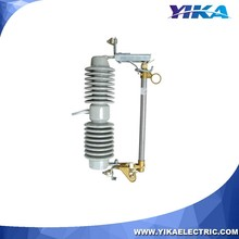 Wenzhou Yika IEC 33KV Porcelain Cutout The Fuse Switch Disconnect