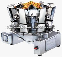2012 Auto Food rotary electronic muiti-head weigher