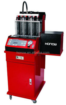 HO-6C Gasoline injector diagnostic and cleaning machine