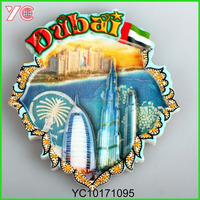 YC10171095 Burj Al-Arab hotel fridge magnet Dubai tourist souvenir fridge magnt with Arab tower