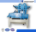 Leading of the world slurry mud particles extraction machine made in China export to India