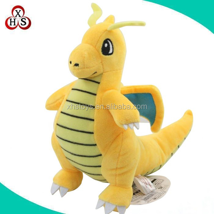 OEM/ODM soft stuffed pokemon plush dragon toys doll wholesale