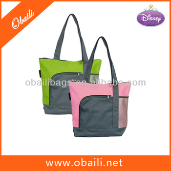 hot selling 600D/pvc tote Bag for shopping
