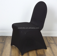 Black Madrid Banquet Chair Covers China Manufacture
