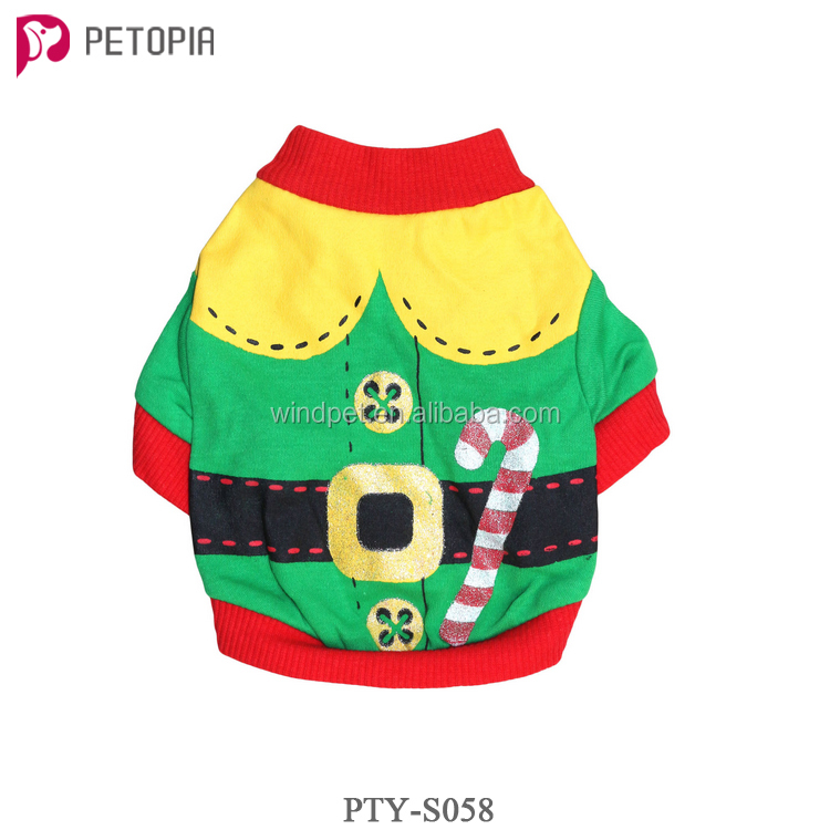 2017 New Design Hot Sales Christmas Dog Clothes