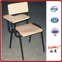 Student/office writing chair with tablet