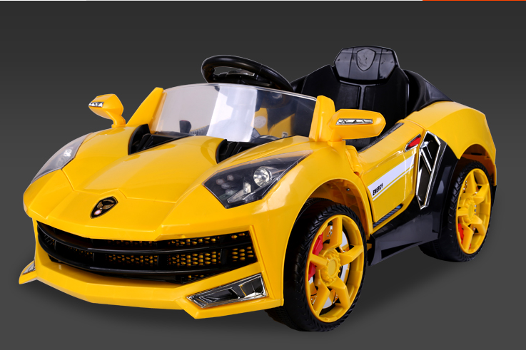 new style double drive remote control electric kids car