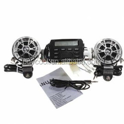 Motorcycle Handlebar FM Radio Sound Audio System 12V