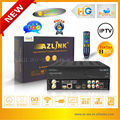 AZLINK HD S1 with Turbo 8PSK ls500 dvb-s2 newcamd iks sks FTA decoder for canada and usa 1pcs /lot