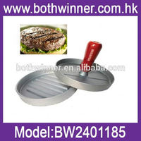 burger press , TR002 new manual makes beef chicken or turkey mini plastic burgers press