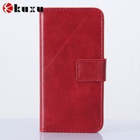 Perfect design blank flip leather case for iphone factory