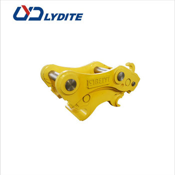ISO9001 approved BYLK series excavator manual quick hitch equipment bucket hydraulic quick hitch and tilting hitch for excavator