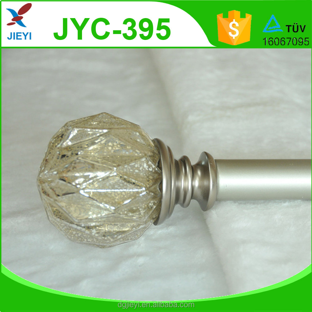 Home decoration curtain accessories ,finials, curtain pole,curtain rod