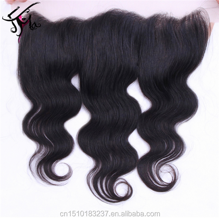 Cheap straight hair bundles with frontal brazilian hair closure piece human hair extensions clip on