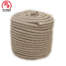 Wholesale 100% Natural Color Twisted Jute Rope For Packing Hemp Rope For Sale