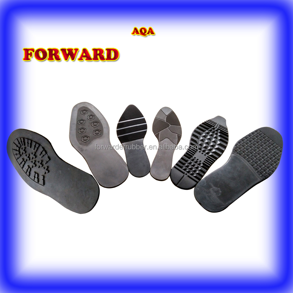 high quality natural rubber soles men soles lady soles