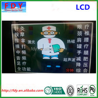 custom TN digital lcd display for massage machine