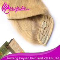 hot sale virgin human hair malaysian clip in hair extentions