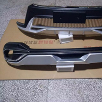 front+rear bumpers for 16 toyota highlander