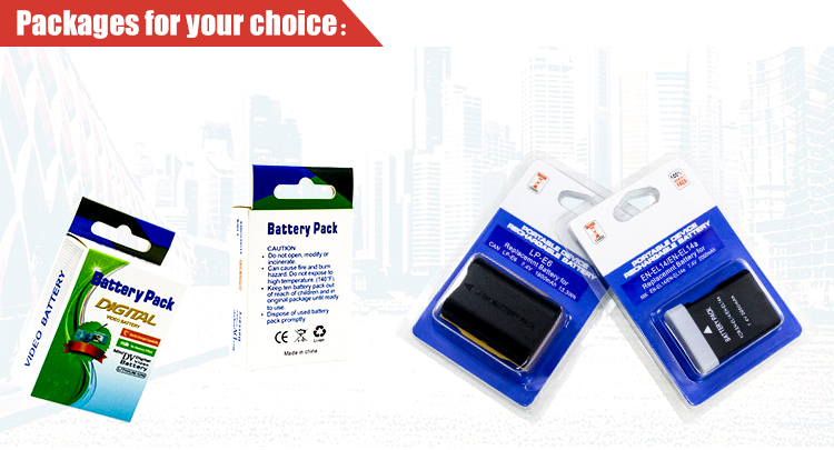 7.4V Camera battery LP-E10 for Canon EOS 1100D 1200D 1300D Rebel T3 T5 T6 X50 X60 Digital DSLR