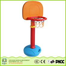 Bairun Best Products Children Small Size Plastic Height Adjustable Movable Basketball Stand