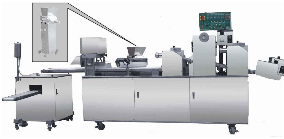 Factory direct sale flaky pastry making machine/bread making machine