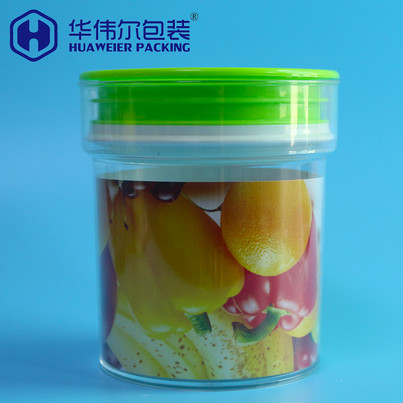 Guangzhou supplier bpa free dry fruit cookies chocolate plastic storage containers for food