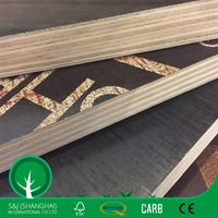 Hot Selling 12mm Black/Brown/Red Film Faced Plywood
