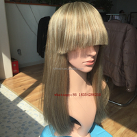 wholesale brazilian human hair human hair lace front wigs with bangs grey hair lace wig ombre lace front wig