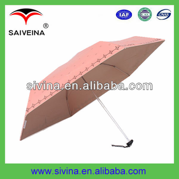 21 Inches Cheap Manual Open/Close Fold up Umbrella Factory
