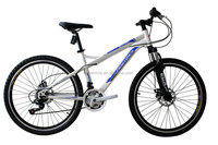 "HOT SALE!!!!High quality competitive price 26""MTB in steel,full suspension fork"