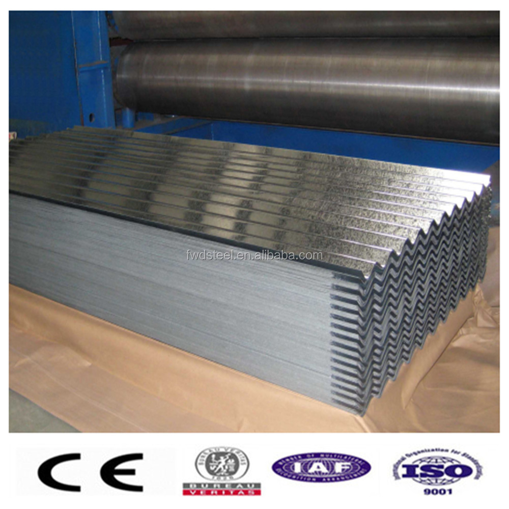 Corrugated galvanized steel metal roofing sheet price