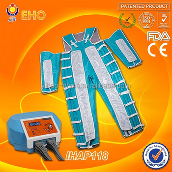 Without infrared!! IHAP118 leg massage machine/beauty instrument presoterapia
