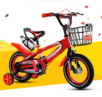 children bicycle with training wheels 12inch inflatable tire kids bike